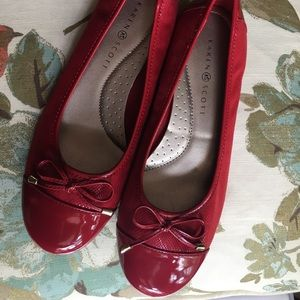Ruby Red Flats
